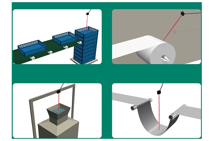 デジタル表示で距離を確認、簡単設定