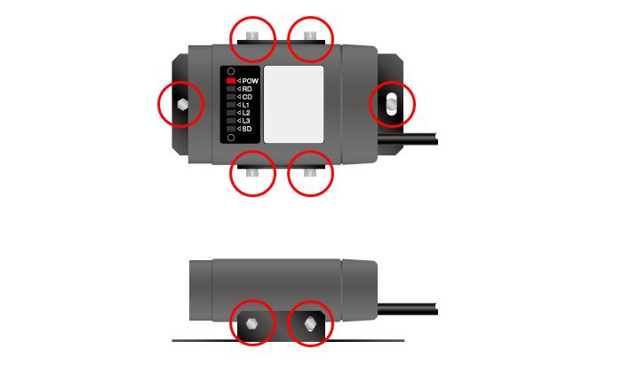 シリアルタイプの光軸調整方法