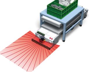 AGV(無人搬送台車)の障害物検知