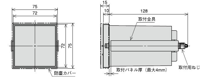 DC-M72×72mmタイプ