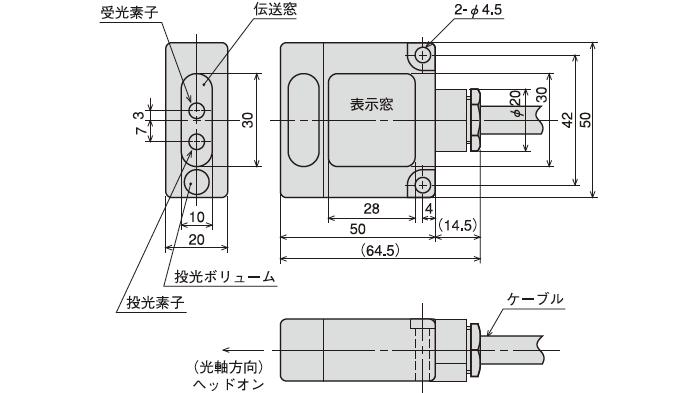 (ヘッドオンタイプ) DMG-GB1/DMG-GB2