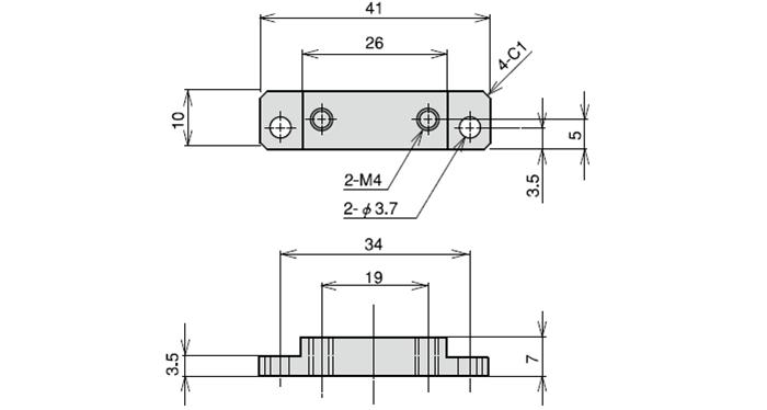 RPAR035 変換ブラケット