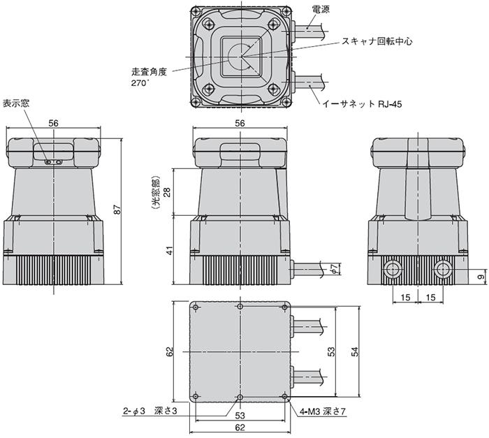 UTM-30LX-EW