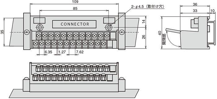 WZ00034 端子台