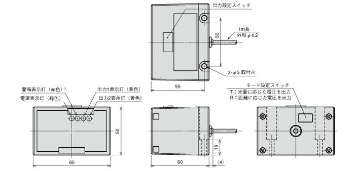 センサ PD-10M/8NM