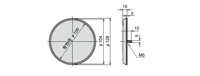 反射板 RRP-100