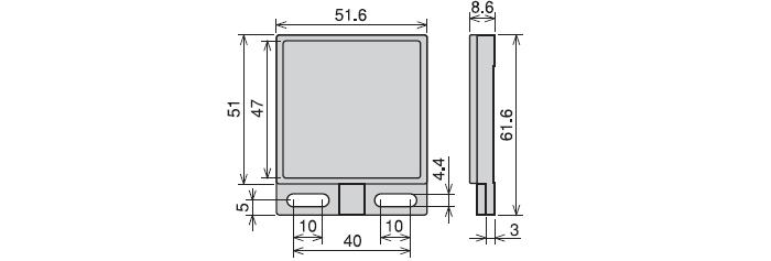 反射板 RRP-50S-V