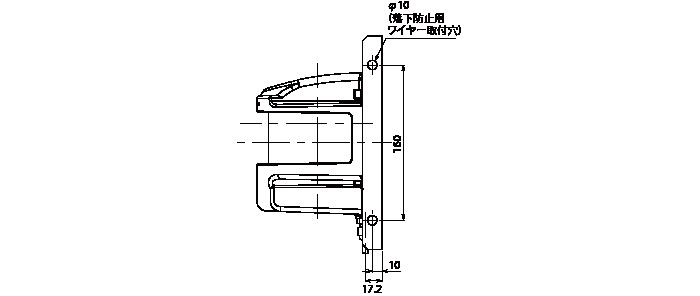 ブラケット(RSC-30LN-UP-DW)