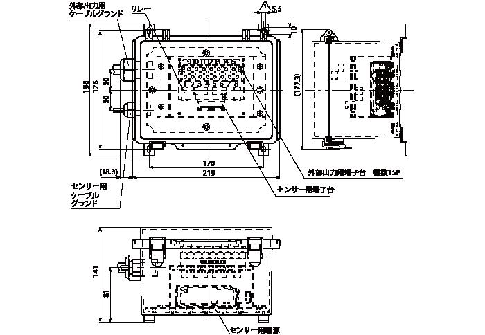 測域センサBOX(RSC-C)